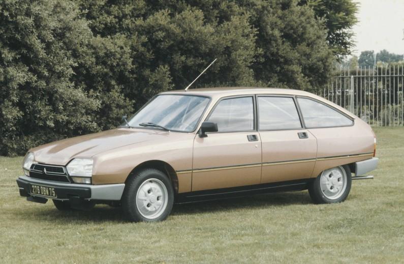"""45 años del Citroën GS: """"Coche del Año en Europa"""" en 1971."""