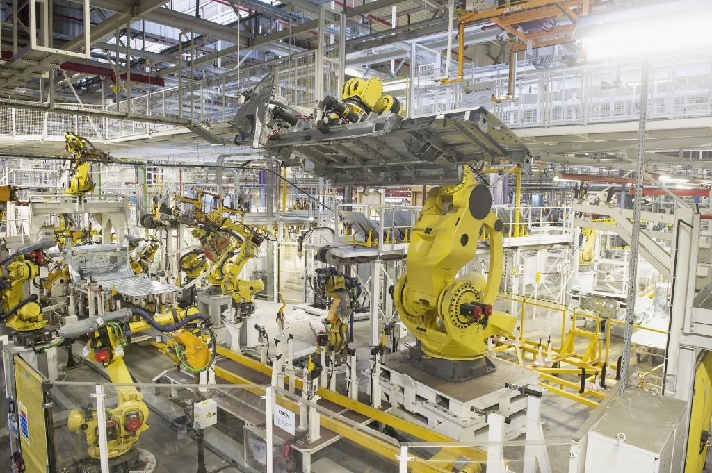 Ferrage Sevelnord - le plus gros robot d Europe