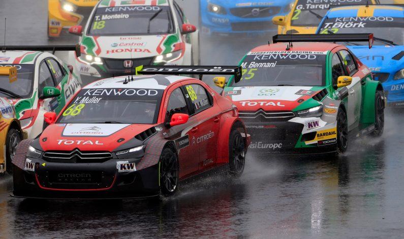 Los C-Elysée WTCC triunfan en Hungría.