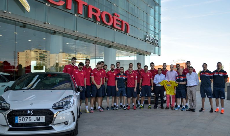 AuraCar colabora con la Selección Española de Voleibol.