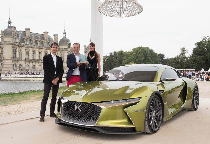 El DS E-TENSE, gana el concurso de elegancia de Chantilly Arts & Élégance Richard Mille.