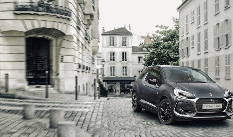 Llegan el DS 3 Performance Line y el DS 3 Cabrio Performance Line.
