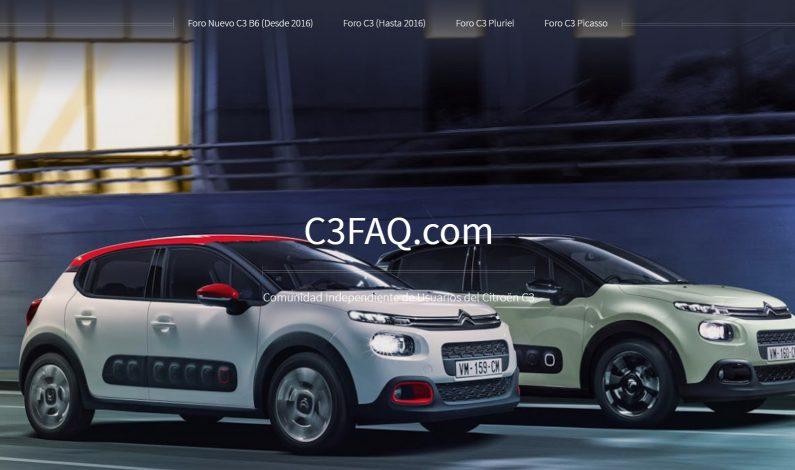 Club Citroën C3 se actualiza: C3FAQ.com