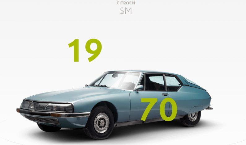 Citroën Origins se actualiza, y ahora el DS y SM ya son Citroën.