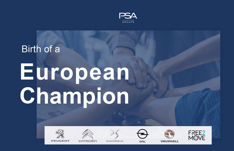 Opel y Vauxhall se integran en el Grupo PSA.