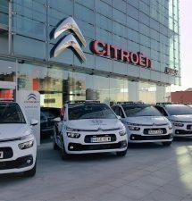 AuraCar entrega a la Policía Local de Guadalajara 7 vehículos Citroën.