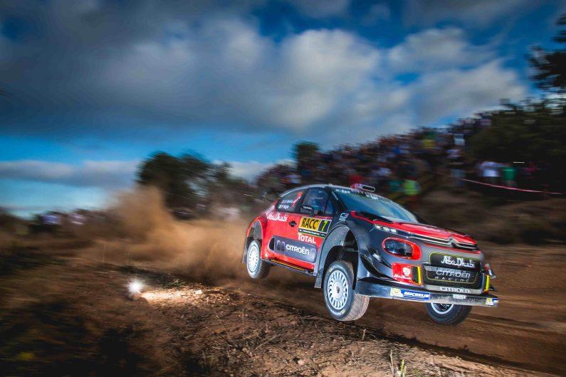 Citroën Racing en cabeza en el Rally de España.