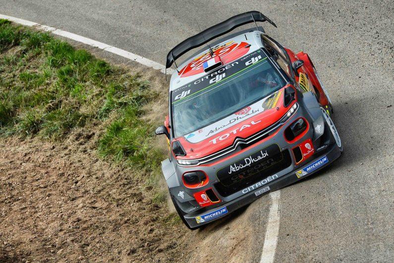 El Citroën C3 WRC triunfa en el Rally de España.