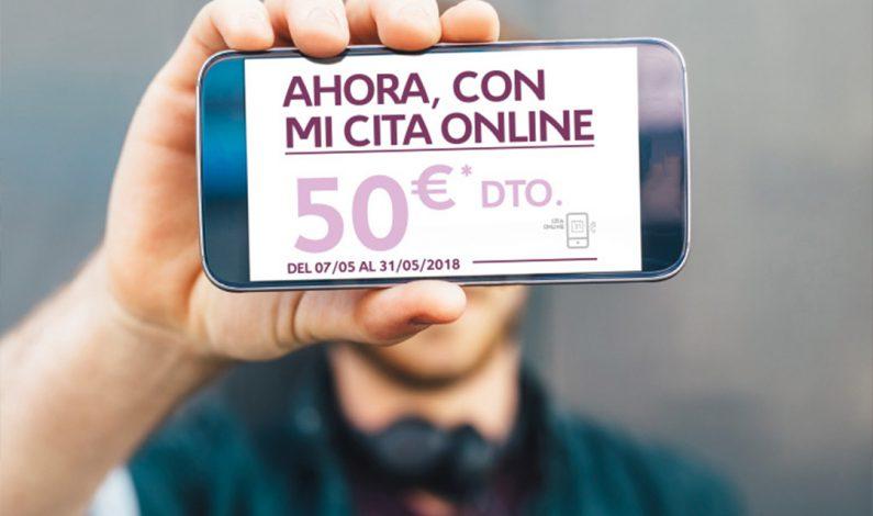Si pides cita en CITROEN.ES tienes 50€ de descuento directo.