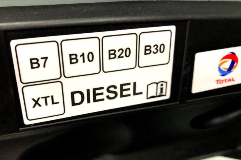 Nueva etiqueta de combustible a partir del 12 de octubre de 2018.